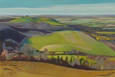 Anna-Dillon Landscape Art, Landscape Paintings, Erin Hanson, Love Painting, Love Photos, Local Artists, Textile Art, Impressionism, Illustrators