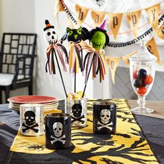 Cute idea for use with the ghouls on a stick that I already have.  Wisteria - Holiday - Halloween -  Ghouls on a Stick - Set of 3 - $16.00