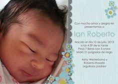 Ian Roberto, the newest member of my family