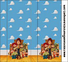 Toy Story 3: Etiquetas Candy Bar para Imprimir Gratis. Cumple Toy Story, Festa Toy Story, Toy Story 3, First Birthday Parties, First Birthdays, Imprimibles Toy Story, Comic Party, Beatles Party, Fiesta Cake