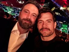 Ben and Henry Henry Superman, Superman X Batman, Henry Cavill, Ben Affleck Batman, Casey Affleck, Film Man, British Boys, Superbat, Daddy Issues