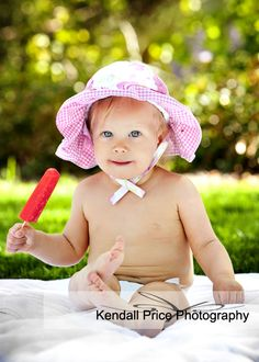 Summer Baby Portraits