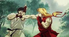 Street Fighter II: Animated Movie Chun-Li vs Vega, best game to movie scene ever? Ryu Street Fighter, Capcom Street Fighter, Ken Anime, Anime Manga, Ryu Ken, Movie Gifs, Movie Scene, Gamer 4 Life, 3 Gif