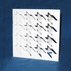 Hand Cut Houndstooth Pattern Card  Who doesnt love houndstooth? A card for any occasion: thank you, congratulations or even just to say hi.