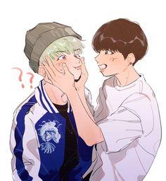 bts yaoi Y Memes Bts Chibi, Vmin, Bts Search, Wattpad, Jikook, Yoonmin Fanart, Ship Drawing, Kookie Bts, Bts Drawings