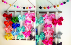 a simple DIY hanger for bows!