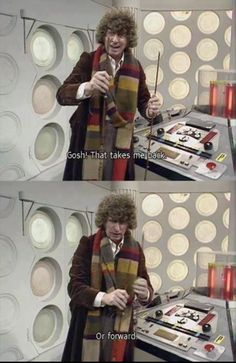 Time Lord problems.