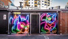 Street Art by Drew Straker, Grand Lane, Perth, Western Australia