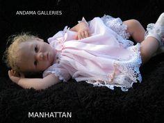 Manhattan created at Andama Galleries using a Shannon sculpt by Ann Timmerman