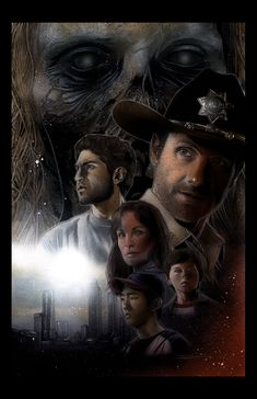 Fan Art of Walking Dead Poster Art for fans of The Walking Dead. Sample poster artwork by Randy Siplon.  http://randysiplon.blogspot.com/