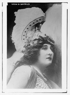 Johanna Gadski as Brunnhilde c. 1915