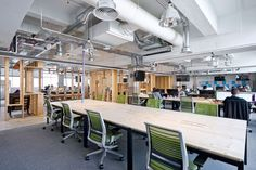 CloudFlare London Office Design Pictures