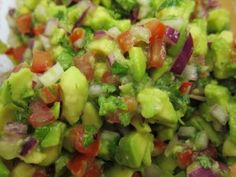 Eva Longoria's Chunky Guacamole with Serrano Peppers - One of the best guacamole recipes I've tried!