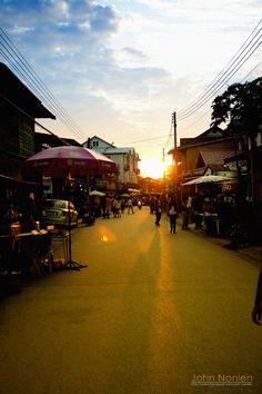 Evening In Chiang Khan