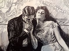 Charles Dana Gibson's illustrations and drawings, printed in 1906.