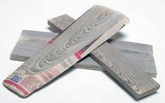 Madera hecha de papel de diario! [.]_[.]