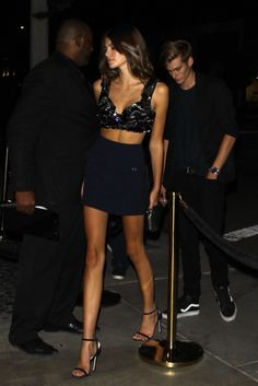 Kaia Gerber and brother Presley 😍 Kaia Jordan Gerber, Kaia Gerber, Night Out Outfit, Outfit Of The Day, Cool Outfits, Fashion Outfits, Womens Fashion, Estilo Madison Beer, Presley Gerber