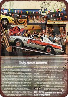1976 Buick Regal Official Pace Car Indy 500 vintage reproduction metal sign 8 x 12 made USA Buick Grand National, Buick Cars, Buick Century, Buick Regal, Car Advertising, Us Cars, Old Ads, Oui Oui, American Muscle Cars