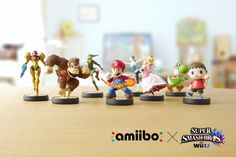 Nintendo To Launch Super Smash Bros. For Wii U And Its Amiibo Interactive Toys Nov. 21 | TechCrunch