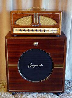 Siegmund Sound King | 300B Tube Guitar Amplifier Handmade