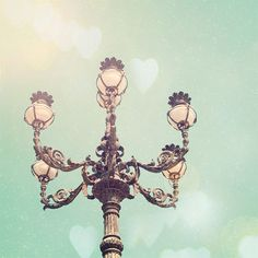 who knew a lightpost could be so pretty?