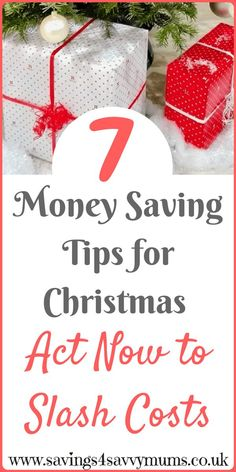 7 money saving tips for families over Christmas, with FREE budget printables by Laura at Savings 4 Savvy Mums #MoneySavingTips #FamilyMoneySaving #ChristmasMoney