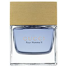 Pour Homme II  An alluring fragrance heightened by a sensual, spicy soul, Gucci Pour Homme II is the essence of young, masculine sensuality. The embodiment of relaxed refinement for the modern-minded man whose style is distinctive and effortless, this fresh, spicy, woody, scent is filled with playful attitude and charisma.