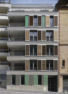 Pictures - HOUSING IN PARIS - street view 2 (photo Didier Boy de la Tour) - Architizer