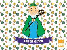 Feliz dia Patricio! #SalveRainha #FelizDia #CuidameSempre