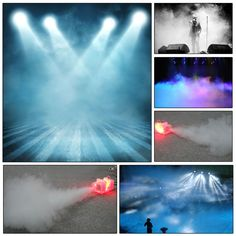halloween lighting effects machine. Fog/Smoke Machine 450w Wired Remote Control Fogger Mist RGB Sound (110V) Halloween Lighting Effects