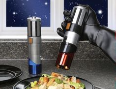 Star Wars Lightsaber Salt & Pepper Shakers