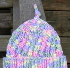 e56748afe88 Knit with KT  Angled Rib Preemie Hat ~ Link correct and pattern is FREE  when I checked on March 2015