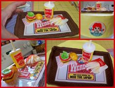 Wendy's Cake | Community Post: 27 Fast Food Themed Cakes That Are Like Works Of Art