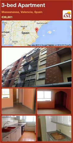 3-bed Apartment in Massanassa, Valencia, Spain ►€36,801 #PropertyForSaleInSpain