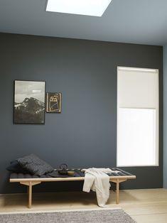 Jotun LADY Perfection: Mørkere, mattere og lunere takfarger er «in St Pauls Blue, Wall Colors, House Colors, Decor Room, Living Room Decor, Home Decor, Jotun Lady, Blue Walls, Best Interior