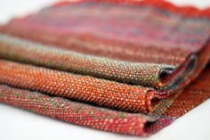 Beautiful for fall! Handwoven Scarf  Handdyed  Handspun  SW Merino  by wooltherapy, $135.60