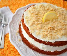 Lemon Cream Cake (Low Carb And Gluten Free)