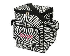 Cooler Bag-Zebra