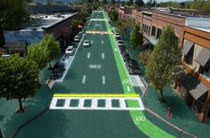 Solar Roadways: The future is now indeed. Thankfully not the 'Taco Bell is considered fine dining' future. I'm talking about a future where our cities and cars are powered by the very roads we use. Self heated to melt snow, LED implanted to make lane lines or ...Read More @ http://greateststuffonearth.com/solar-roadways/
