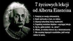 7 życiowych lekcji od Einsteina.
