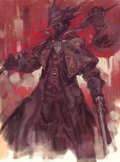 Bloodborne Art, Bloodborne Characters, Dark Souls Art, Dark Art, Soul Game, Dark Fantasy, Fantasy Art, Old Blood, Uriah
