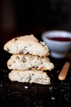 Gluten Free Irish Soda Bread Scones | ourfourforks.com | #glutenfree #vegan #recipe