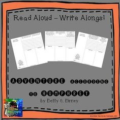 This is the newest addition in a new series that I've created, called READ ALOUD-WRITE ALONGS! I have written interactive, higher level thinking questions aligned with the common core to go with each chapter of popular classroom read alouds. These tri-fol Ela Classroom, Classroom Ideas, Balanced Literacy, Read Aloud, Third Grade, Teaching Resources, Teacher, Student, Writing