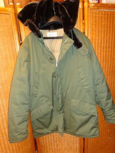 vintage LL BEAN army green military wardens  by Simplemiles, $120.00