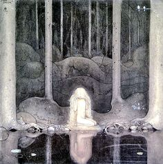 Princess Tuvstar by John Bauer.
