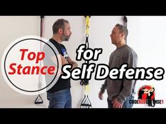 Top Self Defense Stance - YouTube