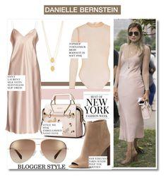 """NYFW '16:Danielle Bernstein Street Style..."" by nfabjoy ❤ liked on Polyvore featuring Michael Kors, Topshop, Yves Saint Laurent, Sam Edelman, Jennifer Zeuner, Marc by Marc Jacobs, Oscar de la Renta, StreetStyle, NYFW and BloggerStyle"