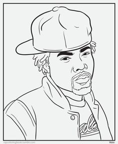 Rap Coloring And Activity Pages