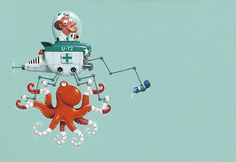 Deep Sea Doctor Dean by Leo Timmers http://www.inspirefirst.com/2013/02/19/deep-sea-doctor-dean-leo-timmers/