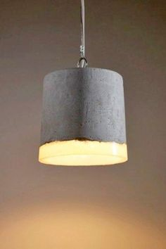 Renate Vos Concrete And Resin Ceiling Light